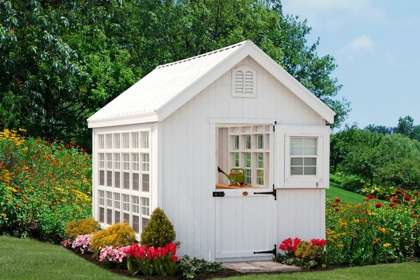 Little Cottage Co Garden Shed Panelized Greenhouse Kit 12 X